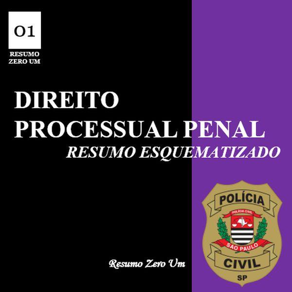 Imagem principal do produto Direito Processual Penal para Agente Policial PC/SP