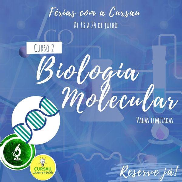 Imagem principal do produto Curso de Férias: Biologia molecular
