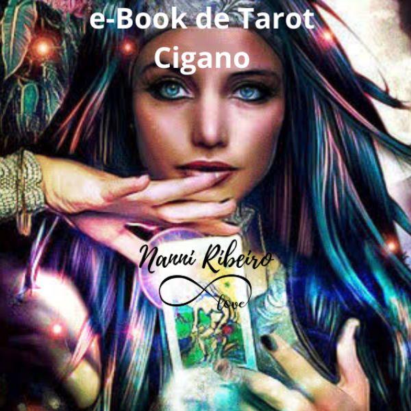 Imagem principal do produto e-Book de Tarot Cigano