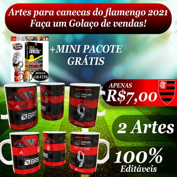 Imagem principal do produto Arte do Flamengo 2021