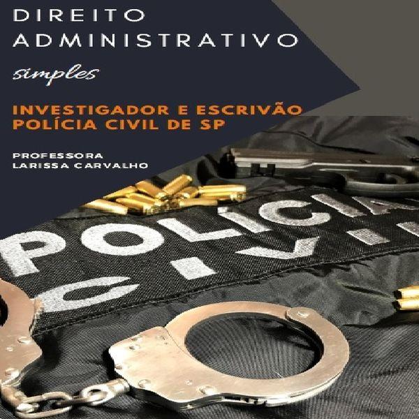 Imagem principal do produto Apostila de Direito Administrativo Simples - PCSP
