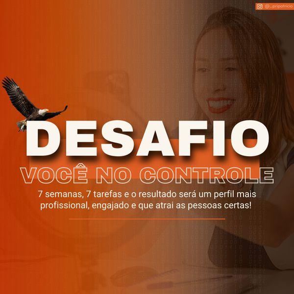 Imagem principal do produto DESAFIO VOCÊ NO CONTROLE