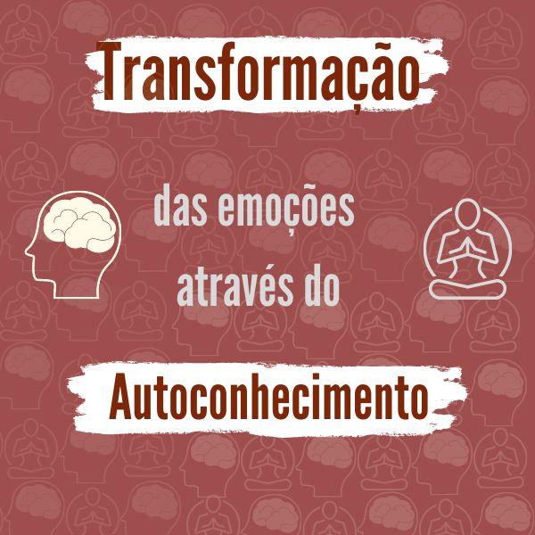 Imagem principal do produto Transformação das emoções através do autoconhecimento.