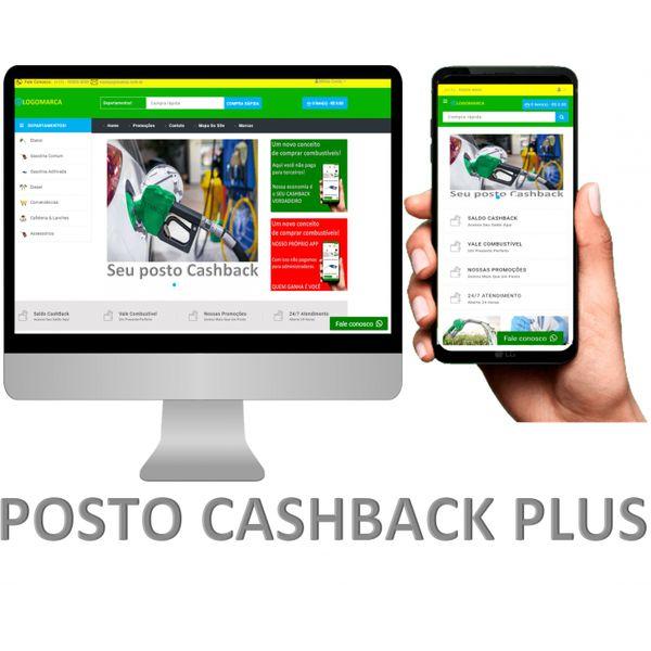 Imagem principal do produto APLICATIVO POSTO CASHBACK PLUS GRÁTIS SITE