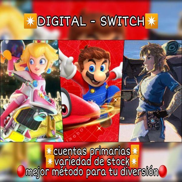 Imagem principal do produto ✴ Digital - Switch ✴