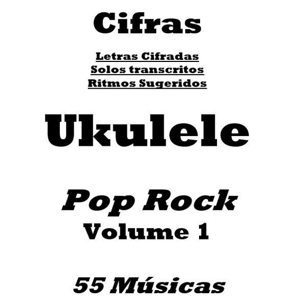 Imagem principal do produto Caderno de Cifras para Ukulele Pop Rock Volume1 - 55 músicas