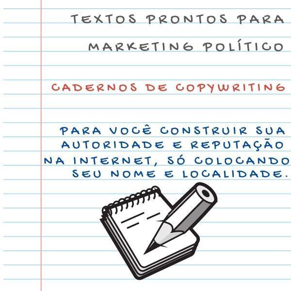 Imagem principal do produto Guia Básico de COPYWRITING para Marketing Político Campanha e Propaganda Eleitoral em até 10x SEM JUROS!