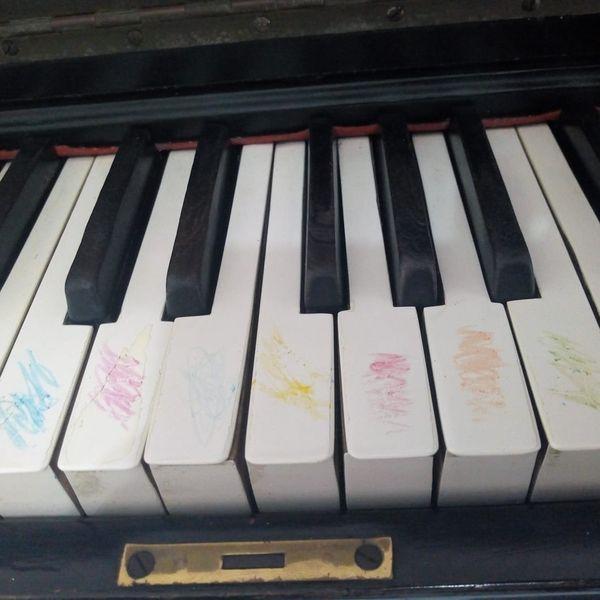 Imagem principal do produto Atividades para decorar as notas no piano