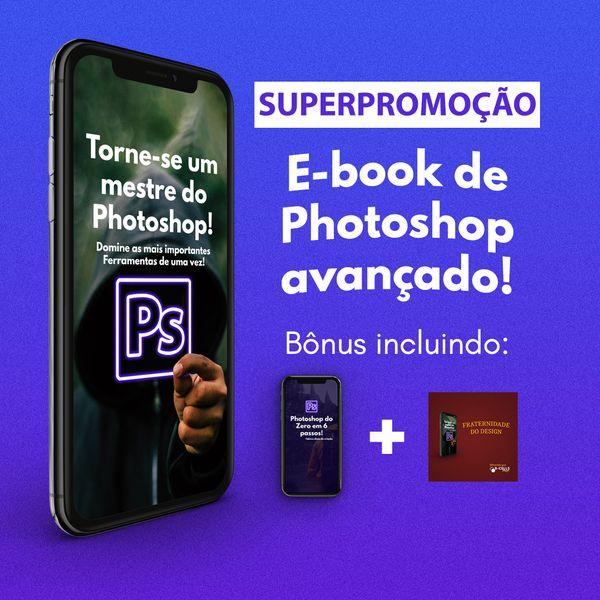 Imagem principal do produto E-book Mestre do Photoshop