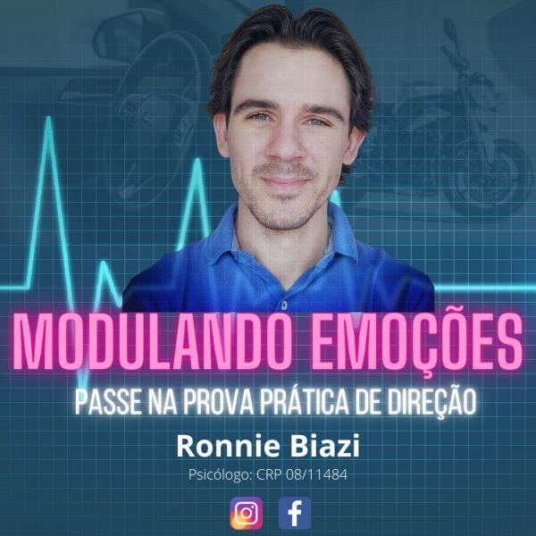 Imagem principal do produto Modulando Emoções: Passe na Prova Prática de Direção (carro e moto)