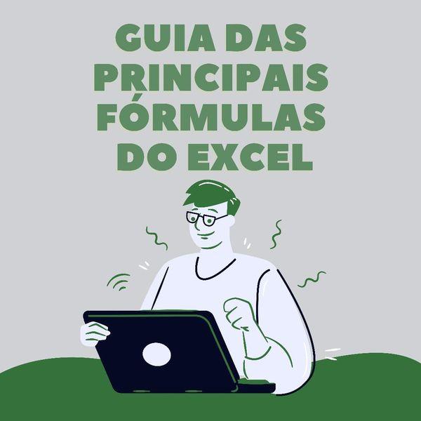 Imagem principal do produto Guia das principais fórmulas do excel