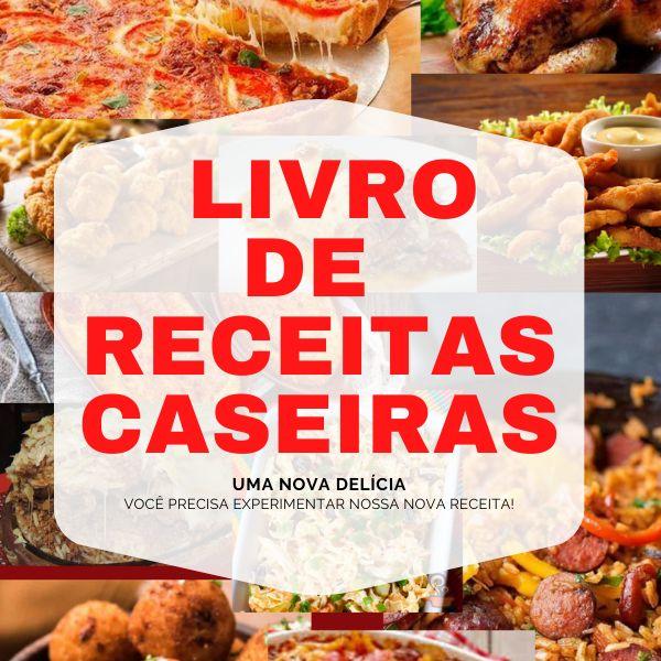 Imagem principal do produto LIVRO DE RECEITAS CASEIRAS