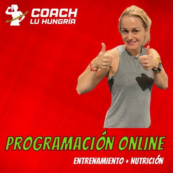 Imagem principal do produto Programación Online de Coach Lu
