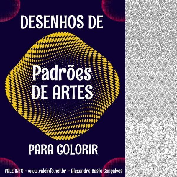 Imagem principal do produto DESENHOS DE PADRÕES  DE ARTES PARA COLORIR