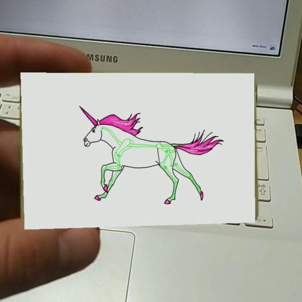 Imagem principal do produto Cartão de visitas AR