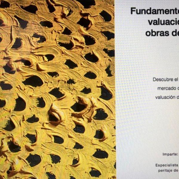 Imagem principal do produto Fundamentos de valuación de obras de arte