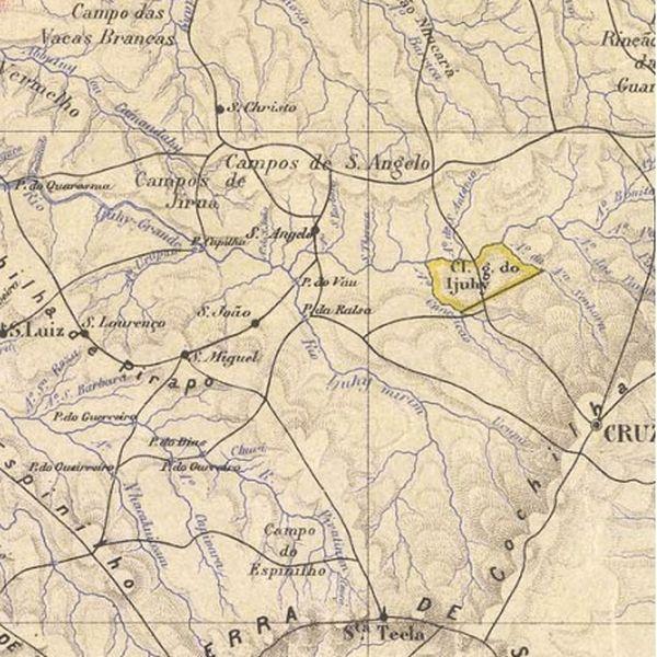 Imagem principal do produto Mapas do Estado do Rio Grande do Sul
