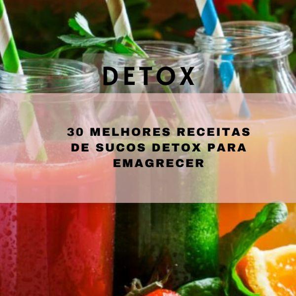 Imagem principal do produto Detox as melhores receitas para emagrecer