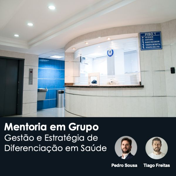 Imagem principal do produto Blue Mentoria - Gestão e Estratégia de Diferenciação