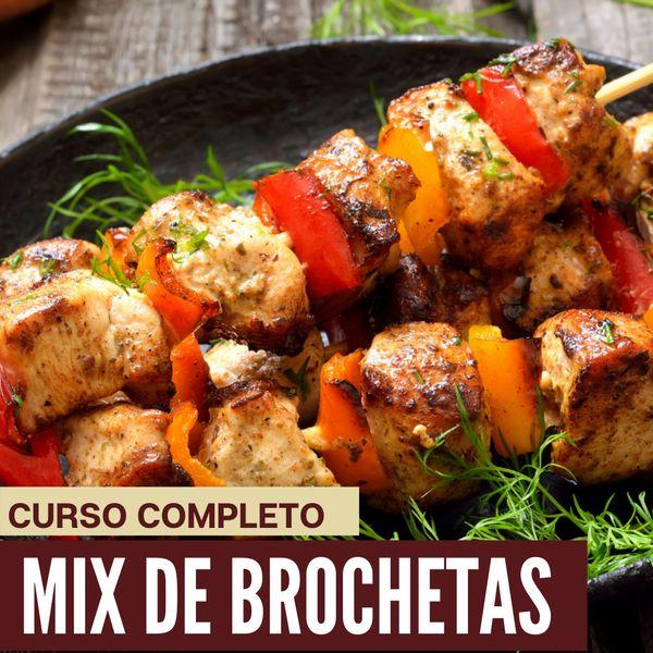Imagem principal do produto Mix de Brochetas
