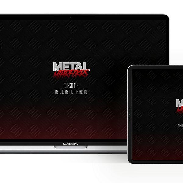Imagem principal do produto Curso M3 (Método Metal MthrFckrs)