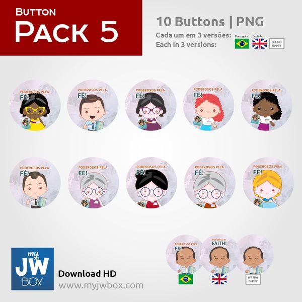 Imagem principal do produto Buttons em PNG - ButtonPack0005