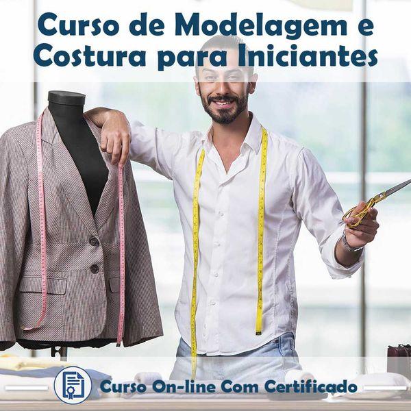 Imagem principal do produto Curso Modelagem e Costura