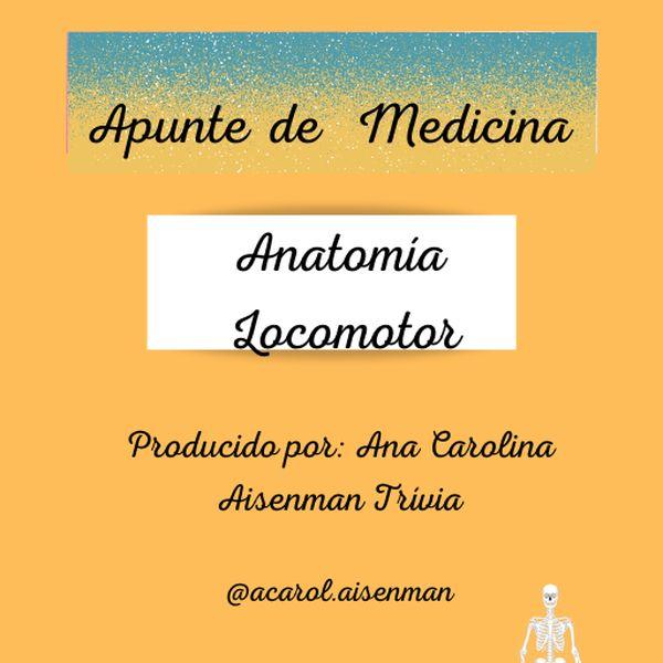 Imagem principal do produto Apunte de Medicina - Anatomía Locomotor