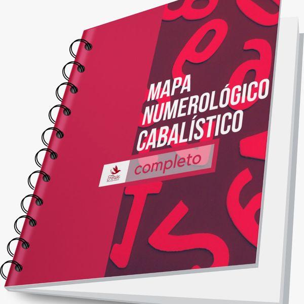 Imagem principal do produto MAPA NUMEROLÓGICO CABALÍSTICO PESSOAL