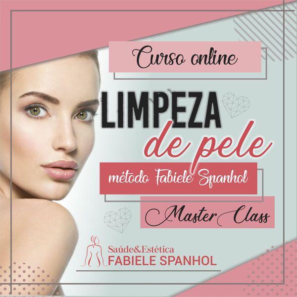 Imagem principal do produto CURSO DE LIMPEZA DE PELE MASTER CLASS- DO BÁSICO AO AVANÇADO