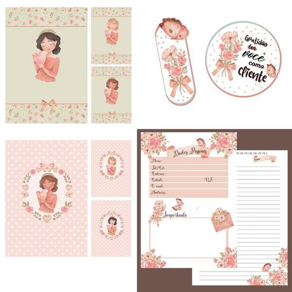 Imagem principal do produto Caderno Menininhas