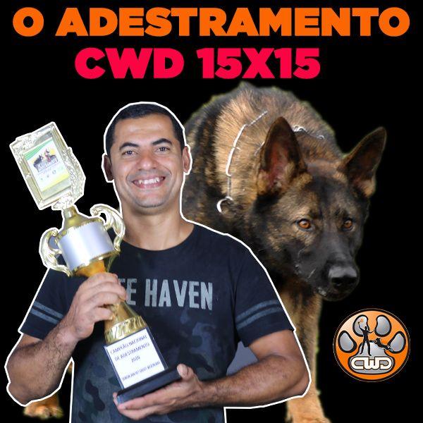 Imagem principal do produto  ADESTRAMENTO CWD 15X15