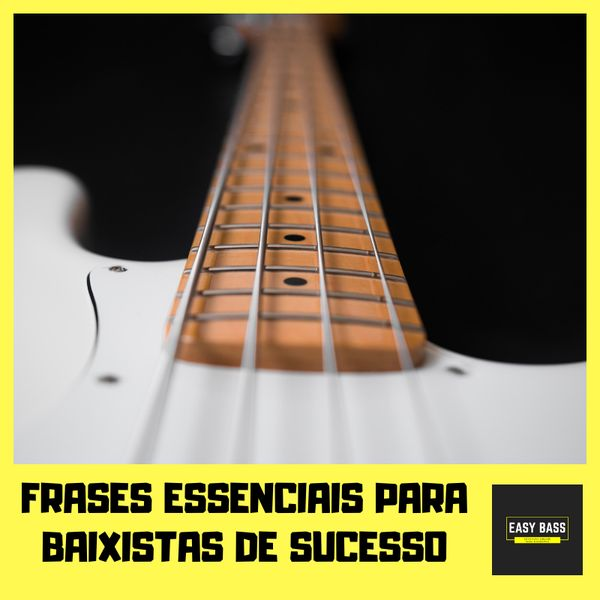 Imagem principal do produto Frases essenciais para baixistas de sucesso