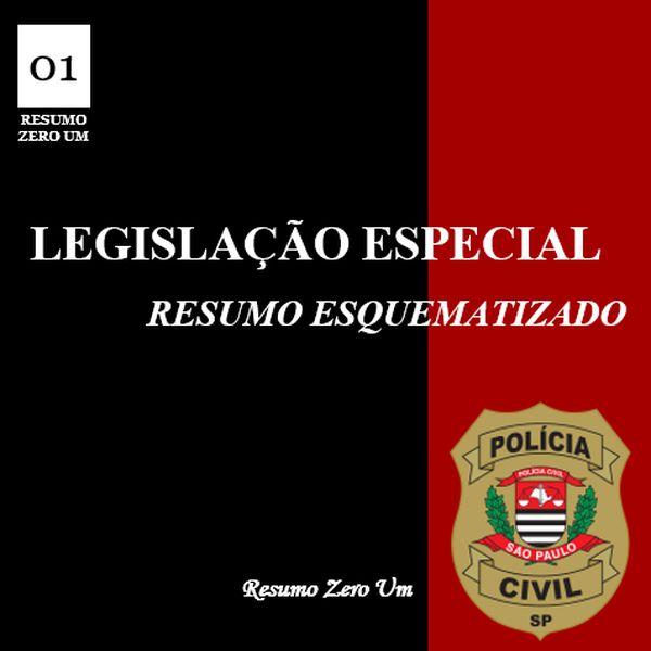 Imagem principal do produto Legislação Penal Especial para Escrivão de Polícia PC/SP