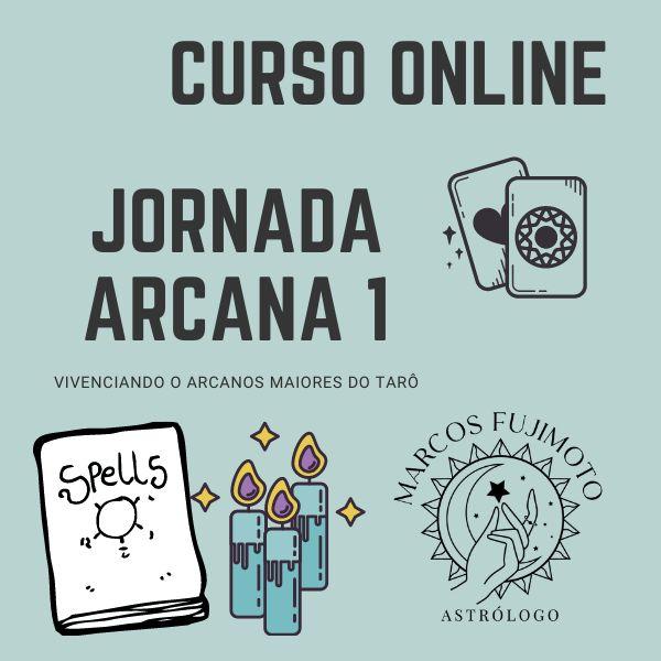 Imagem principal do produto Jornada Arcana - Tarô Arcanos Maiores
