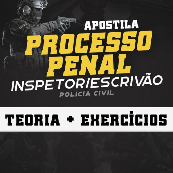 Imagem principal do produto APOSTILA PROCESSO PENAL- POLÍCIA CIVIL CEARÁ
