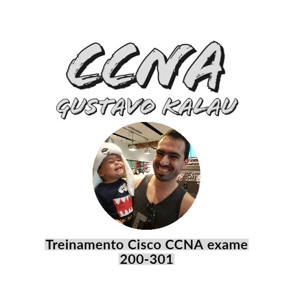 Imagem principal do produto Treinamento Cisco CCNA método Gustavo Kalau
