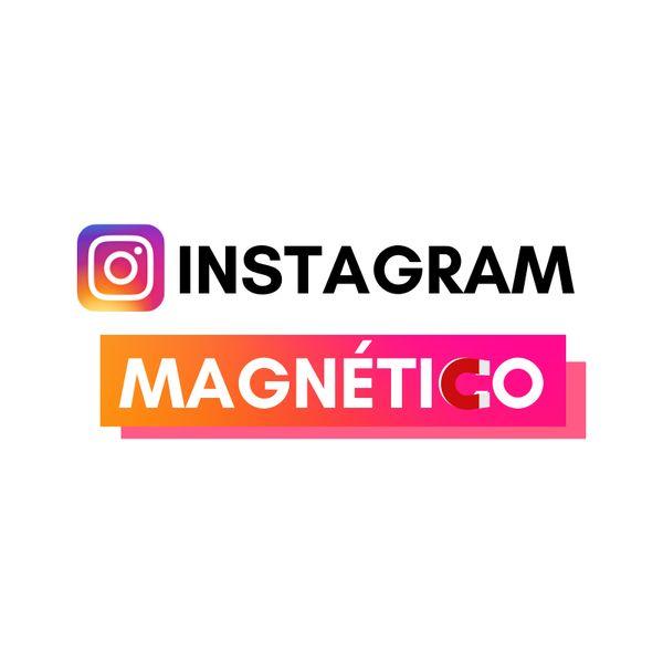Imagem principal do produto Instagram Magnético