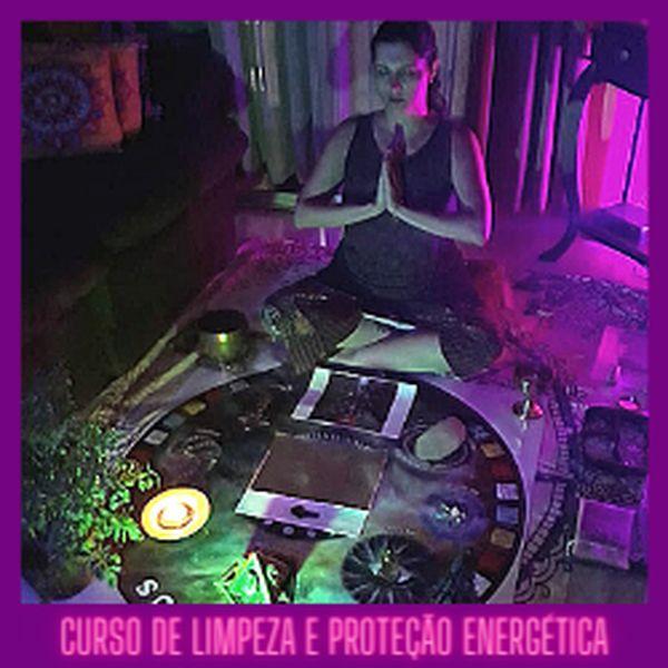 Imagem principal do produto CURSO DE LIMPEZA E PROTEÇÃO ENERGÉTICA – PESSOAL E DE AMBIENTE