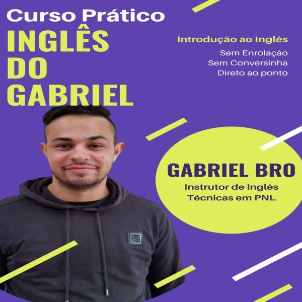 Imagem principal do produto Curso Prático Inglês do Gabriel