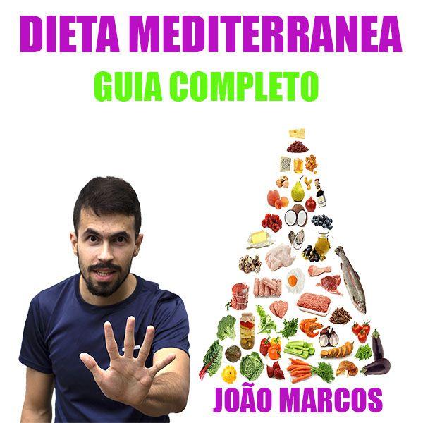Imagem principal do produto Dieta Mediterrânea Guia Completo