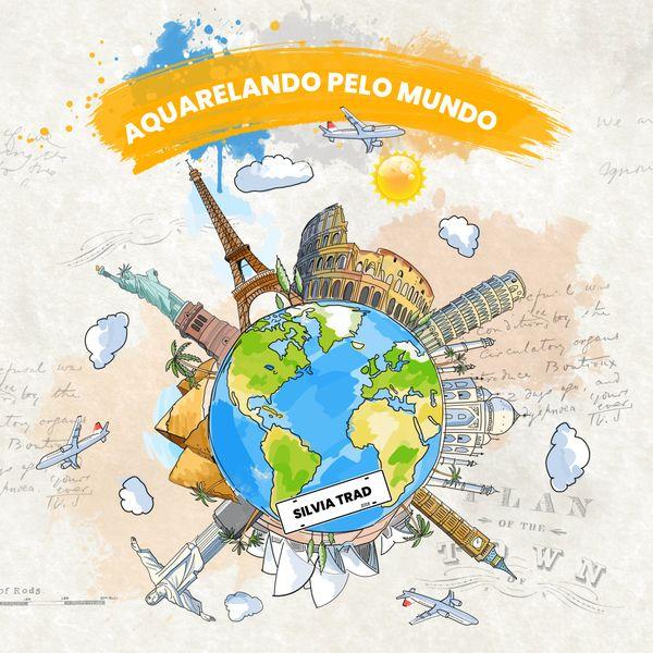 Imagem principal do produto Aquarelando Pelo Mundo