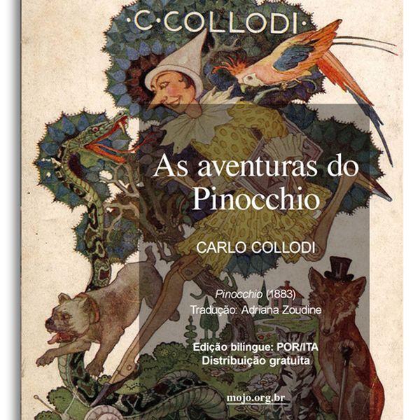 Imagem principal do produto As aventuras de Pinocchio: A historia de uma marionete