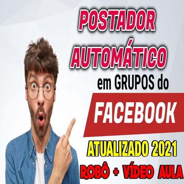 Imagem principal do produto AUTOFACE - Robô de Postagens Automática no Facebook