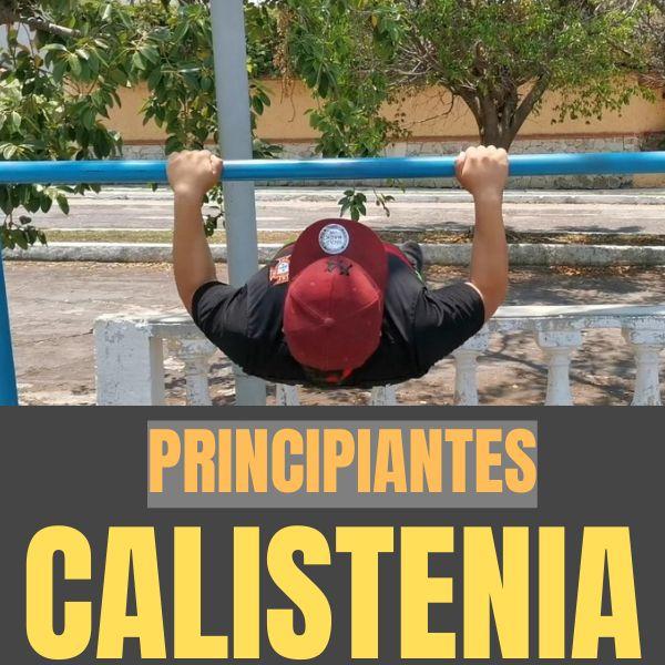 Imagem principal do produto Calistenia para principiantes