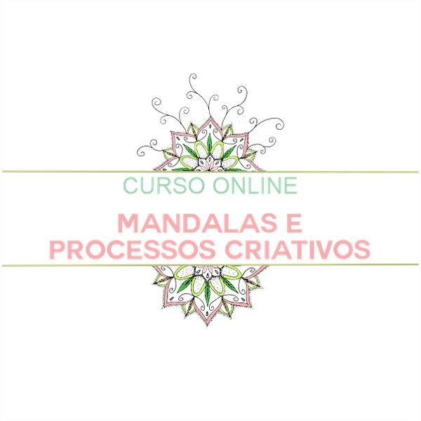 Imagem principal do produto Curso - MANDALAS E PROCESSOS CRIATIVOS
