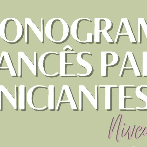 Imagem principal do produto CRONOGRAMA DE FRANCÊS - NÍVEL A1