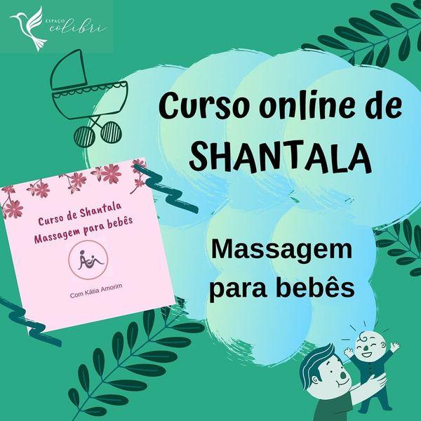Imagem principal do produto Curso de Shantala- massagem para bebês