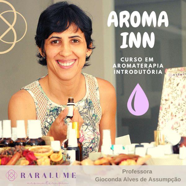 Imagem principal do produto Curso Online em Aromaterapia Introdutória - AromaInn