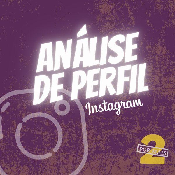 Imagem principal do produto Análise de Perfil Instagram
